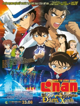 Thám Tử Conan Movie 23: Cú Đấm Sapphire Xanh